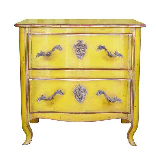 560B COMMODE REGENCE TOURNUS DRAGEE Yellow