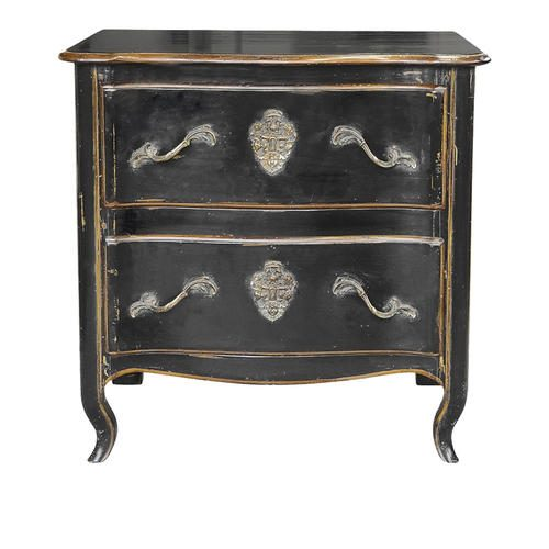560B COMMODE REGENCE TOURNUS NOIR
