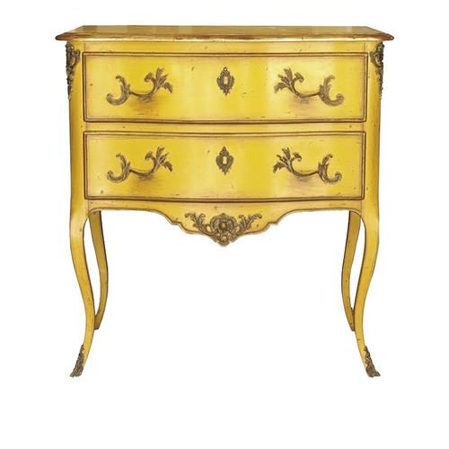 570FB COMMODE LXV JAUNE IMPERIAL