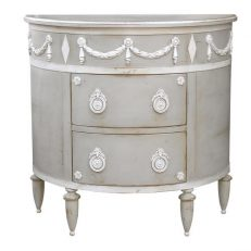 775 COMMODE DEMI LUNE