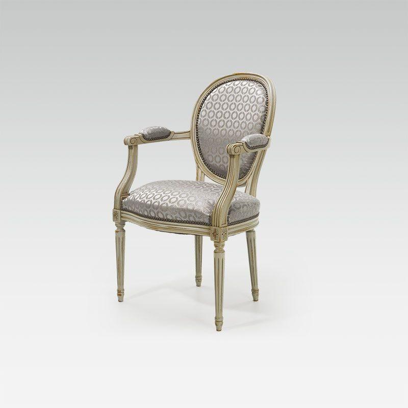 812 fauteuil louis xvi medaillon 656n 1 2