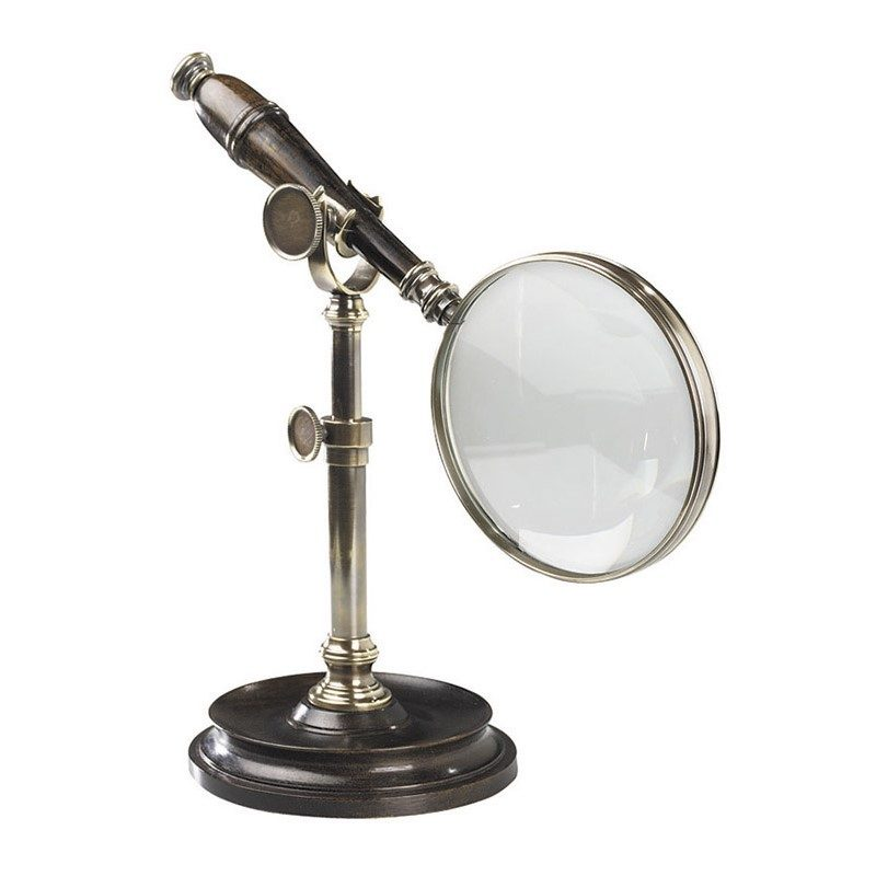 AC099E_Magnifying-Glass-With-Stand-Bronzed-1
