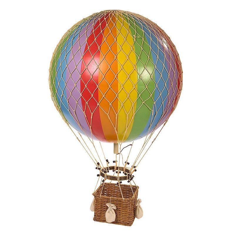 AP168E Jules Verne Balloon Rainbow 1