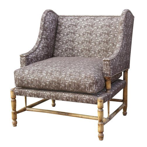 BERGERE L.XIV armchair light brown