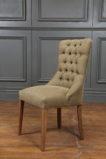 Baltimore Round Tufted Dining Chair 50x60x99 745 TL 1 2