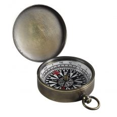 CO002B Small Compass Bronzed 1