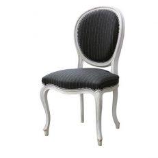 Chair 707B Table baroque Black 1
