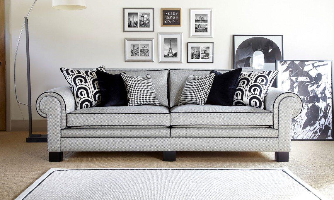Coco grand split sofa