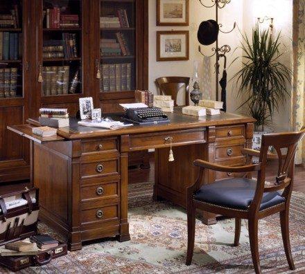 Desk-CF018_Directoire-Noyer