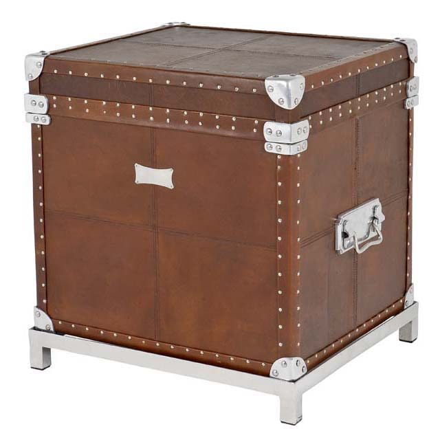 Flightcase brown Leather incl stand 105173 0 1