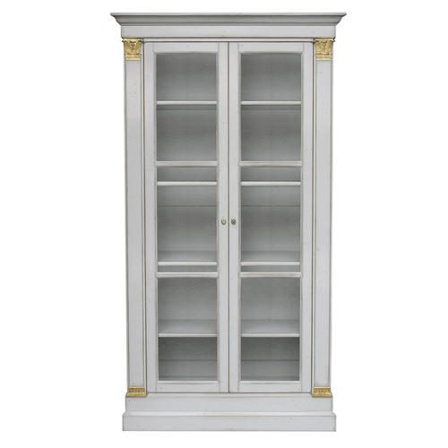 L.XVI BOOKCASE with pilasters