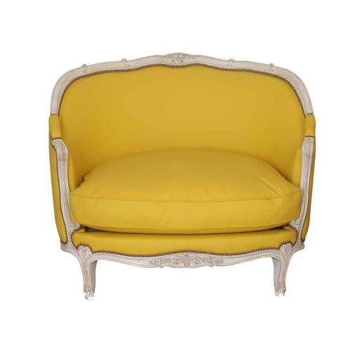 MARQUISE GONDOLE armchair gelb