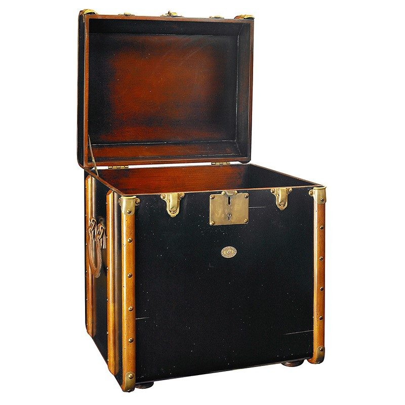 MF079B_Stateroom-Trunk-End-Table-Black