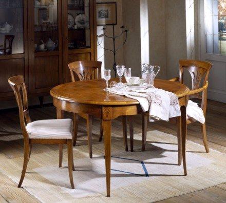 Oval dining table 5108 Veneziano