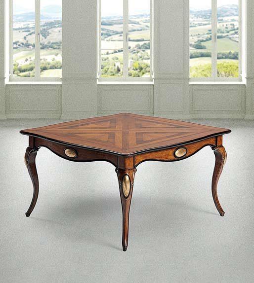 Prodotto 820 tavolo cm 140 x 140 x h78