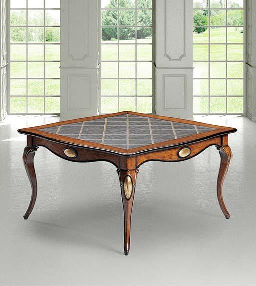 Prodotto 821 tavolo cm 140 x 140 x h78