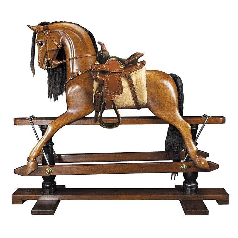 RH006W Rocking Horse Western Saddle 1