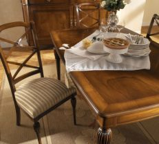 Rectangular dining table 7609 Regale
