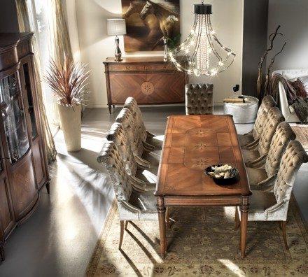 Rectangular dining table GV009 Genovese