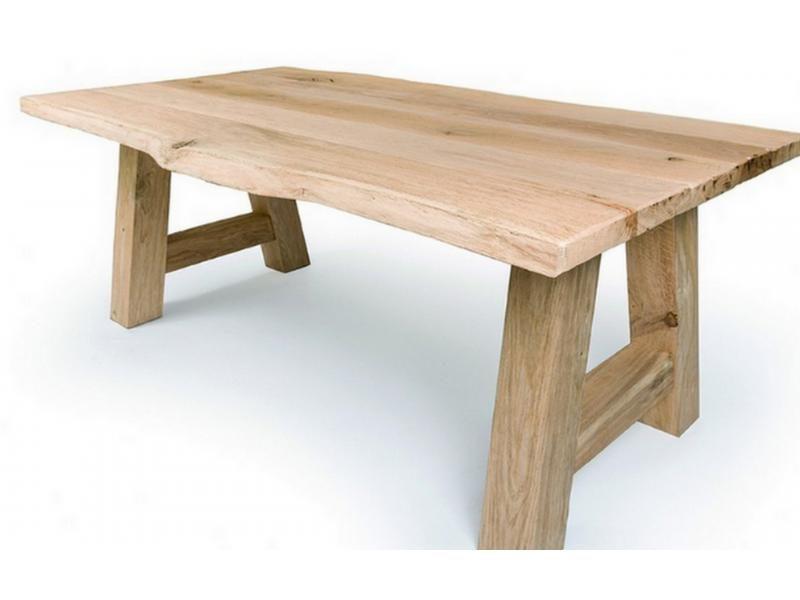 Rustic Oak Dining Table Corsica TA2844 200