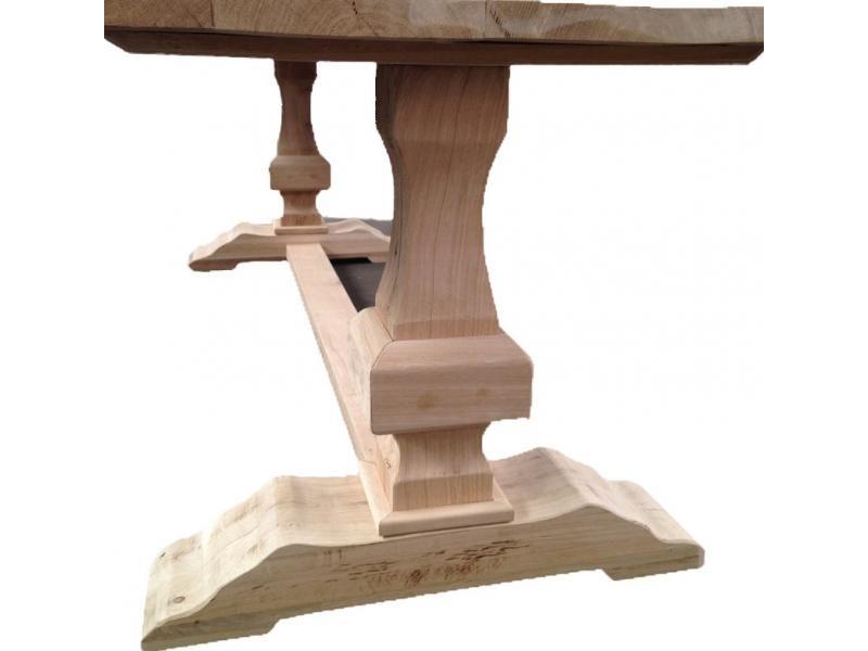 Rustic Oak Dining Table Malta TA3782 200