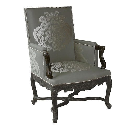 SCULPTED L.XIV ARMCHAIR Grey