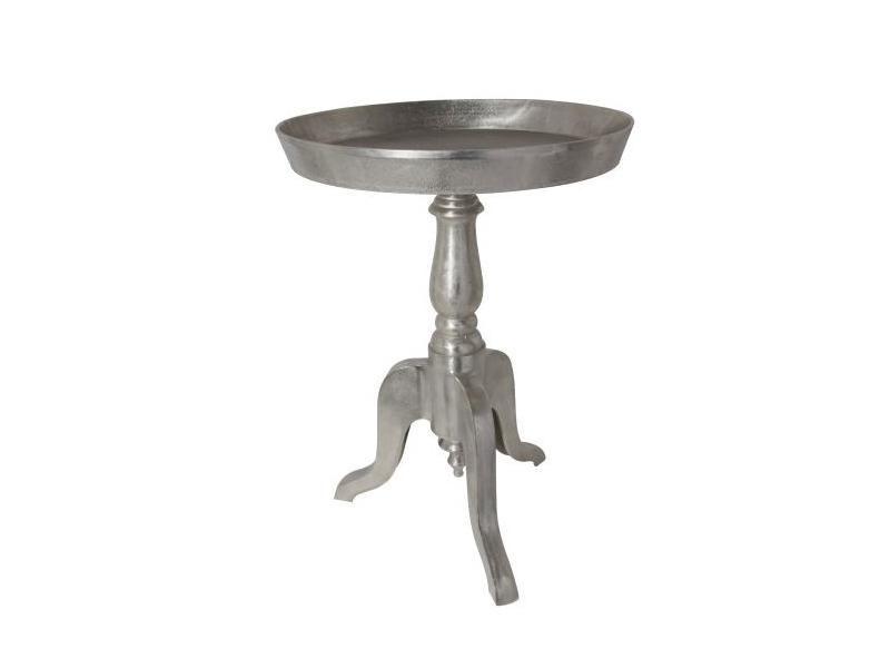 Side Table Baron Ø47 Raw Nickel TA5857 625