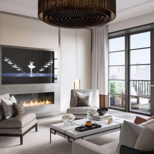 Mirror mantel fireplaces   Feature Fireplace Design Ideas   LuxDeco.com