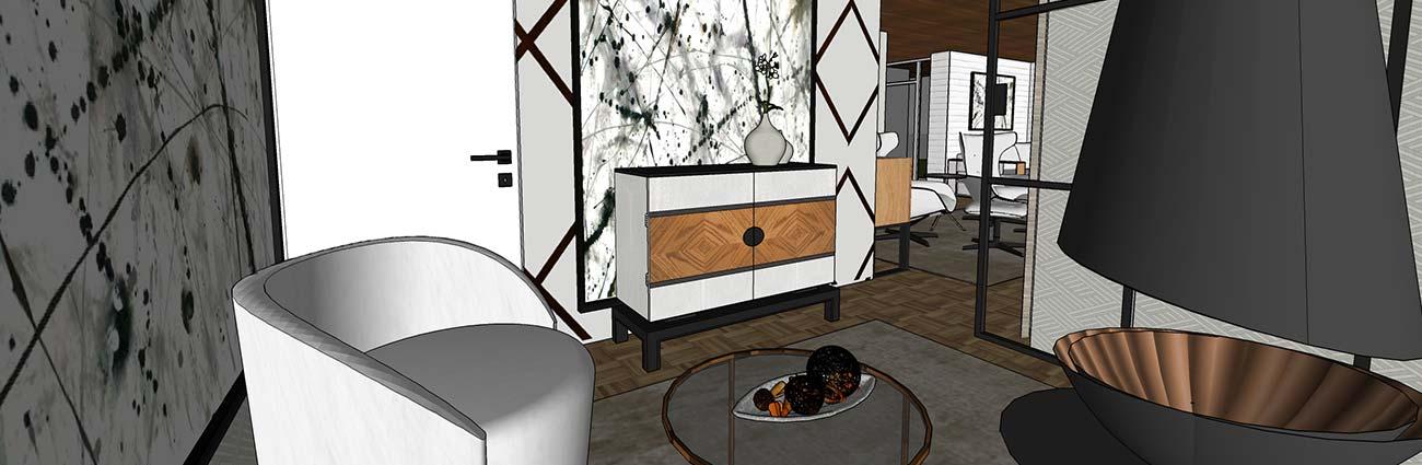 3D Innenarchitektur