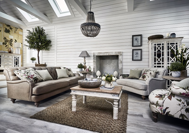 How to create a contemporary country inspired interior 2